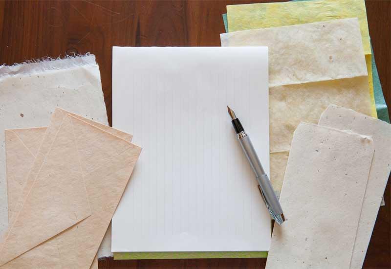 手紙の種類